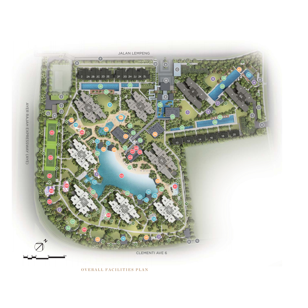 Parc Clematis - Overall Facilities Plan and Overview.